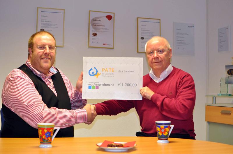 Dirk Steinborn ist 1. Partner der Lebenshilfe Rhein-Lahn e. V.